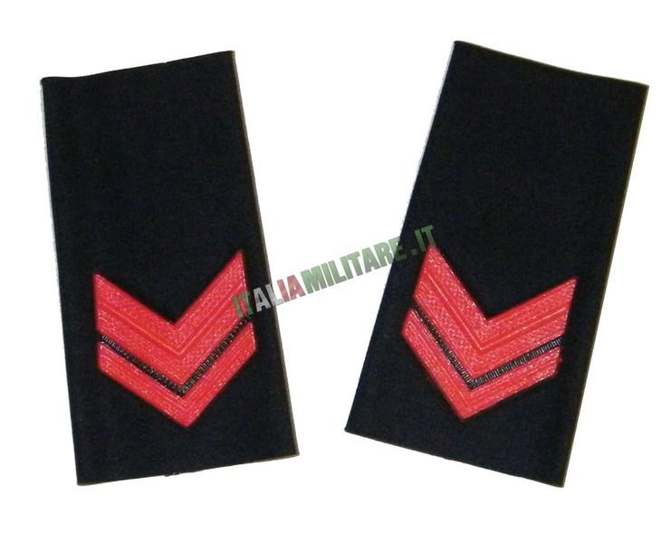 Coppia di Gradi Marina Militare Italiana Sottocapo