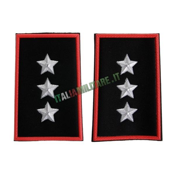 Coppia Gradi Tubolari Carabinieri Capitano