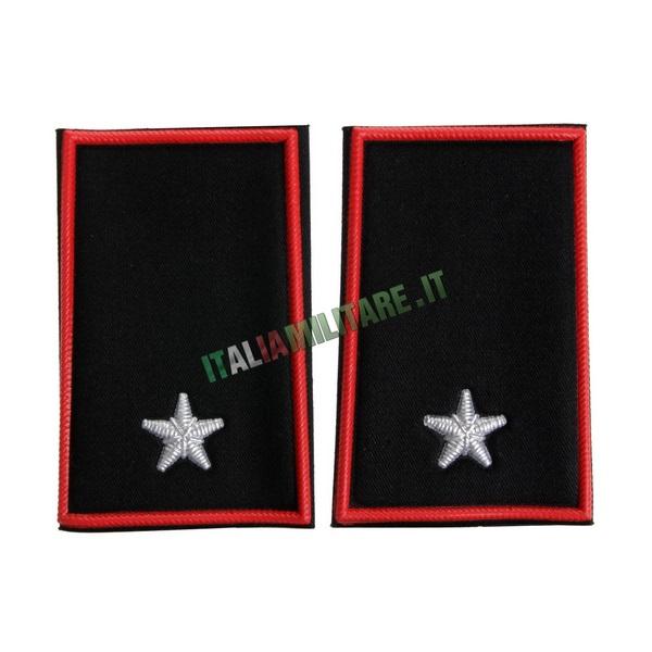 Coppia Gradi Tubolari Carabinieri Sottotenente