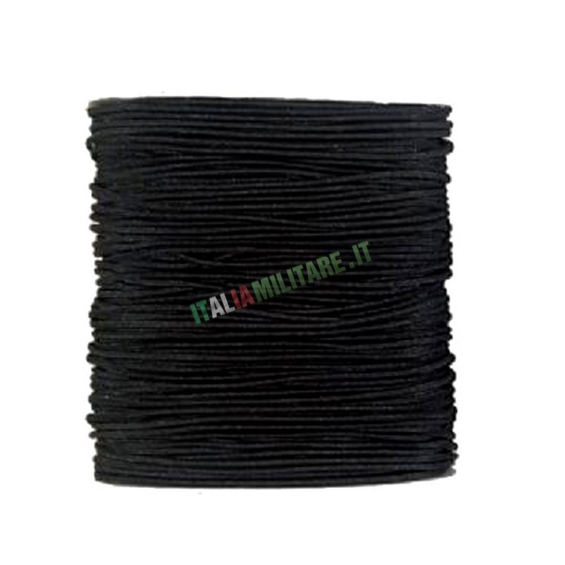 Corda Elastica da 2,5 mm al METRO in Nylon Nera Defcon 5