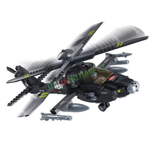 Costruzioni Sluban Militari mod Elicottero Apache
