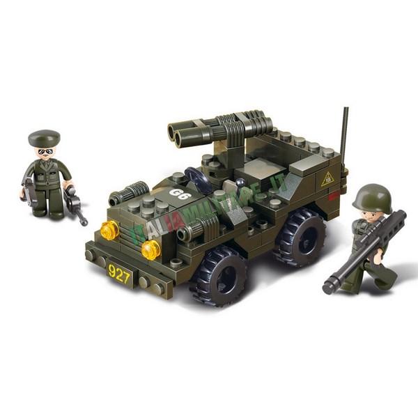 Costruzioni Sluban Militari mod Mezzo Jeep Lanciarazzi