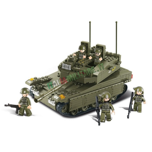 Costruzioni Sluban Militari mod Carroarmato M38-B0305