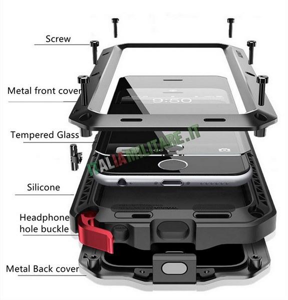 Cover Defender per i Phone 5 - 6 - 7