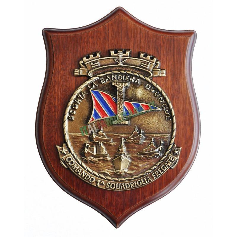 Crest Comando 1° Squadriglia Fregate Marina Militare