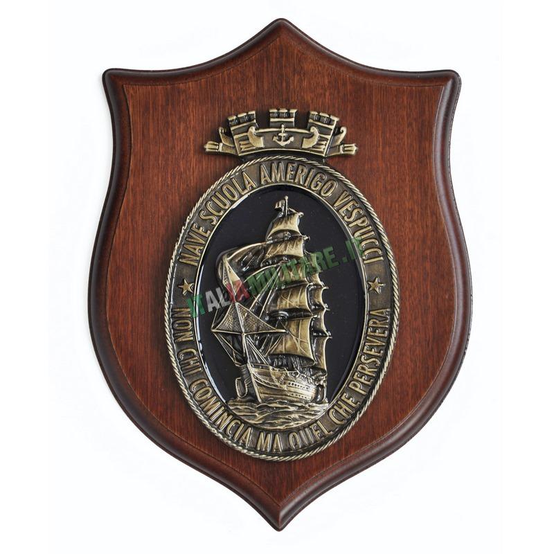 Crest Nave Scuola Amerigo Vespucci