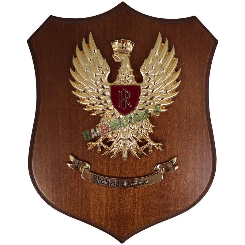 Crest Aquila Polizia di Stato