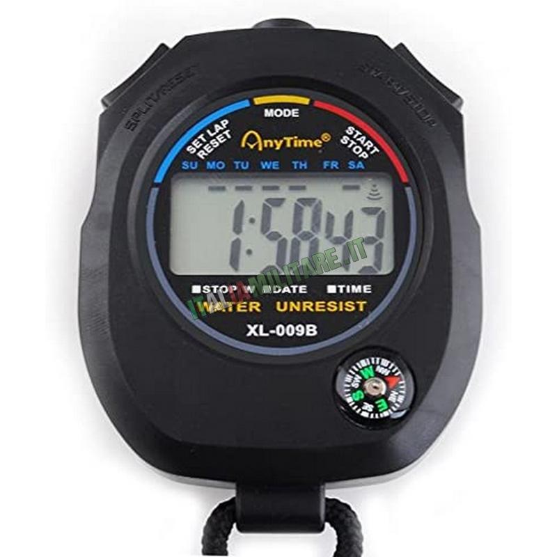 Cronometro Digitale con Bussola