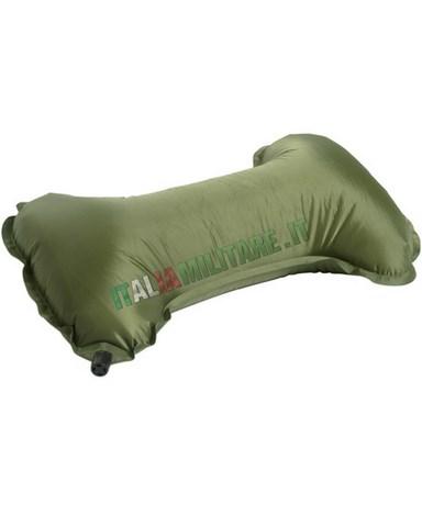 Cuscino da Viaggio Anatomico Autogonfiante Verde