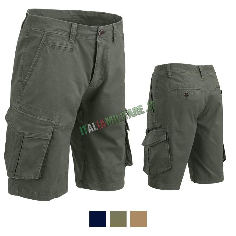"Bermuda Pantaloni Corti Cargo ""Slim Fit"" Defcon 5"
