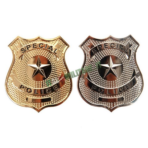 Distintivo in Metallo Special Police