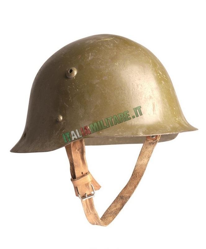 Elmetto Bulgaro Militare Originale WWII