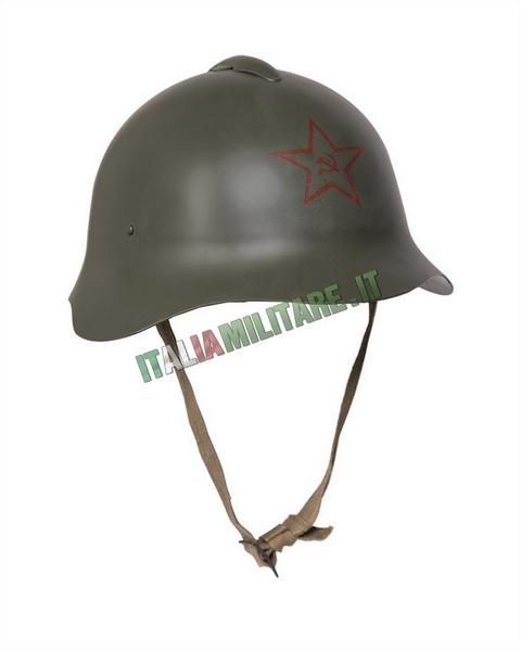 Elmetto Russo Militare WWII Repro M36