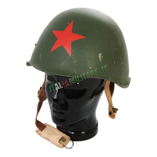 Elmetto Russo Militare Originale con Stella Rossa