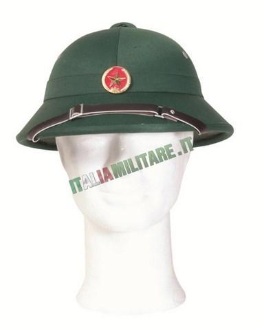 Elmetto Militare Vietcong Guerra in Vietnam