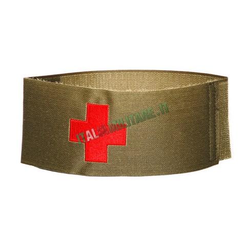 Fascia Militare Medico Soccoritore con Croce Rossa