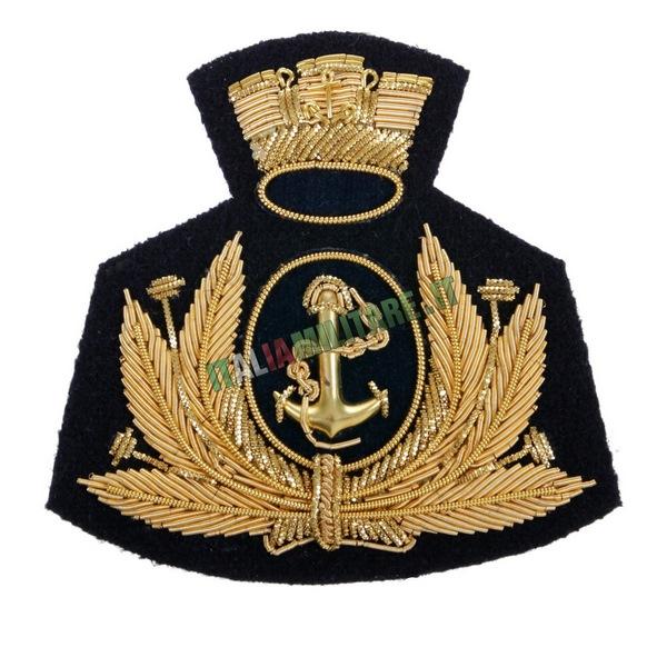 Fregio da Cappello e Basco Marina Militare