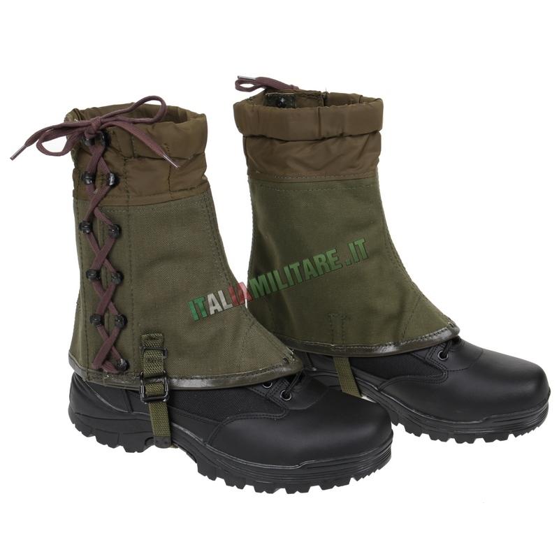Ghette Esercito Italiano Militari Originali