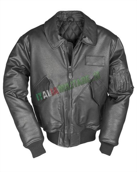 Giacca da Volo CWU Militare Flight Jacket Nera