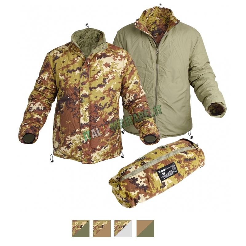 Piumino Giacca Lite Jacket SBB Reversibile