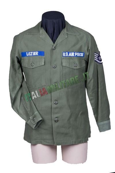 Camicia Giacca Militare Americana OG 107 Originale U.S. Air Force
