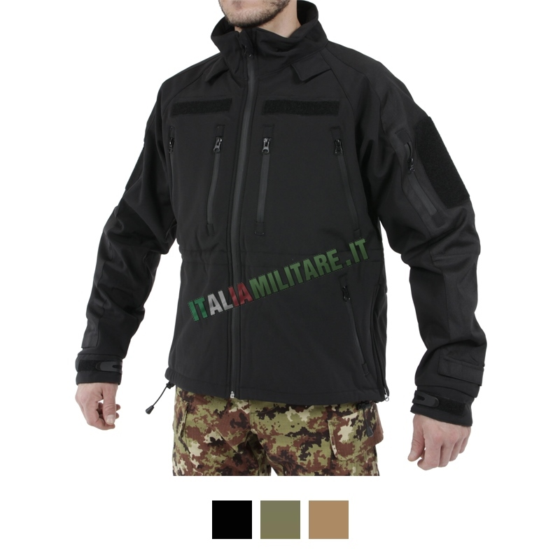 Giacca Softshell Mil-Tec Militare