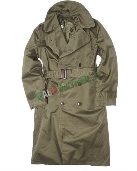 Impermeabile Militare Italiano Originale Esercito