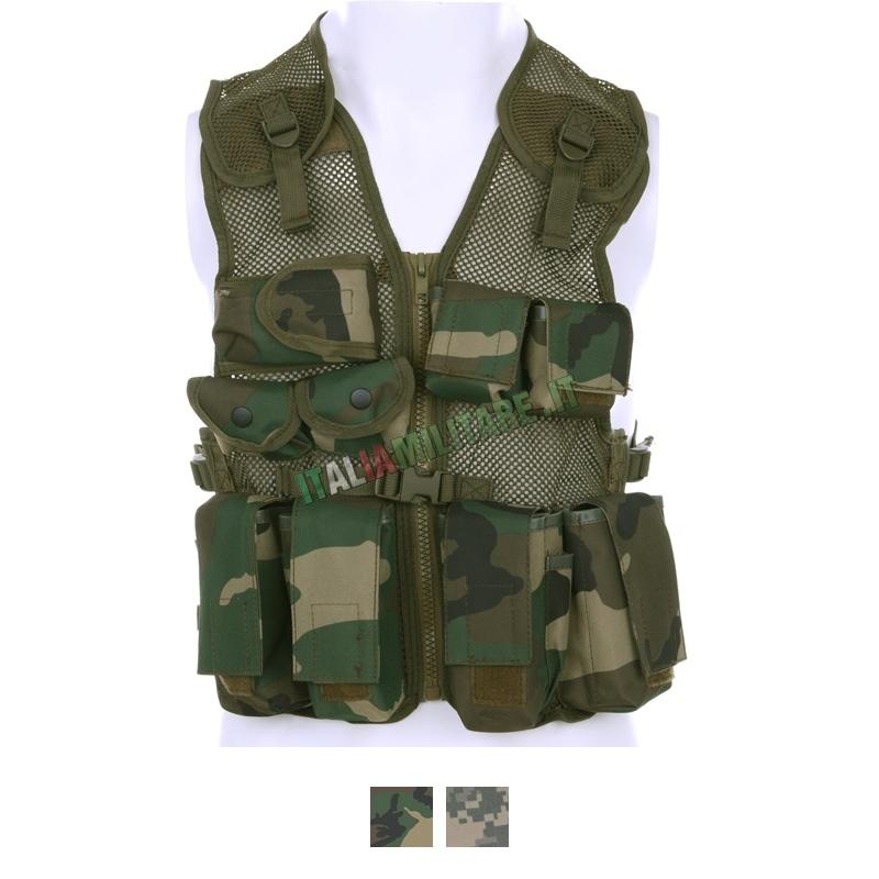 Gilet Tattico Militare da Bambino