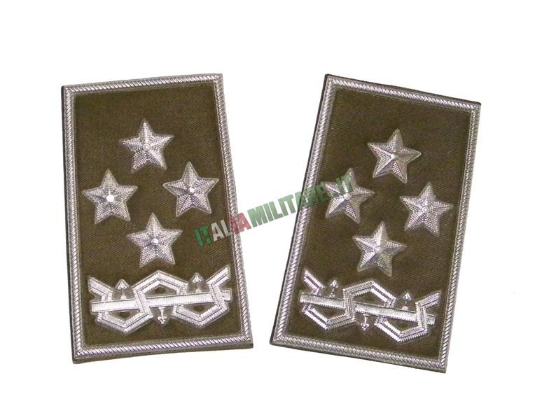 Coppia di Gradi Esercito Italiano Capo di stato Maggiore