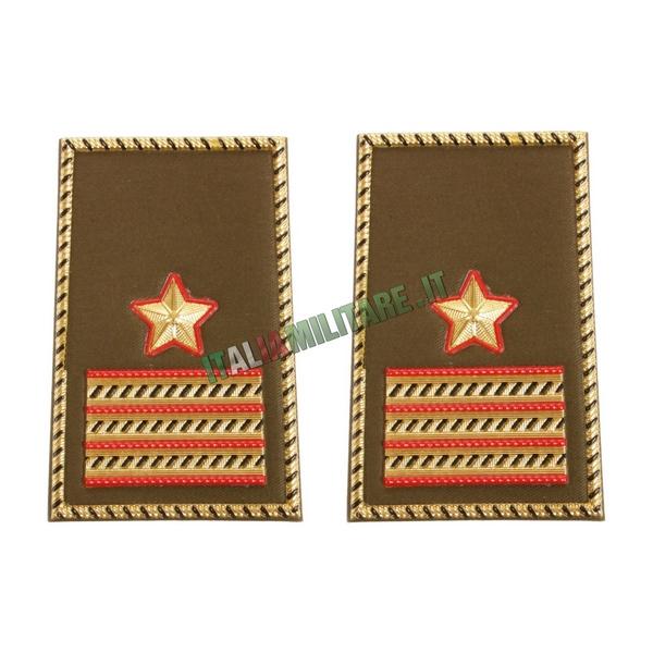 Coppia di Gradi Esercito Italiano 1° Maresciallo Luogotenente