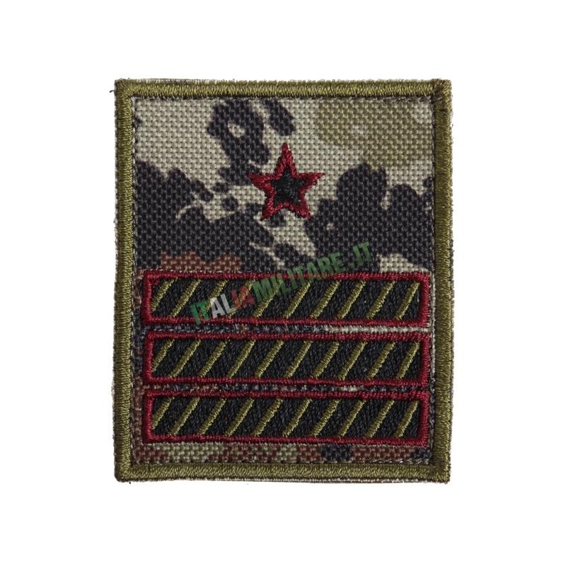 Gradi a Velcro 1° Maresciallo Luogotenente Aeronautica Militare Bassa Visibilità