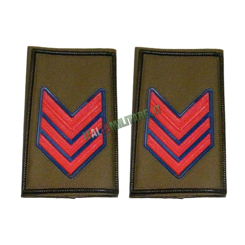 Coppia di Gradi Esercito Italiano Caporal Maggiore Paracadutista