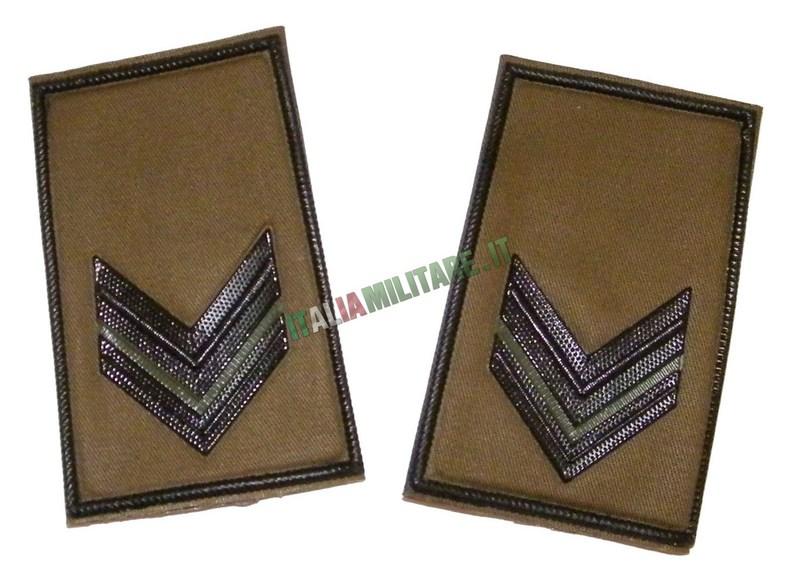 Coppia di Gradi Esercito Italiano Caporale VFP1