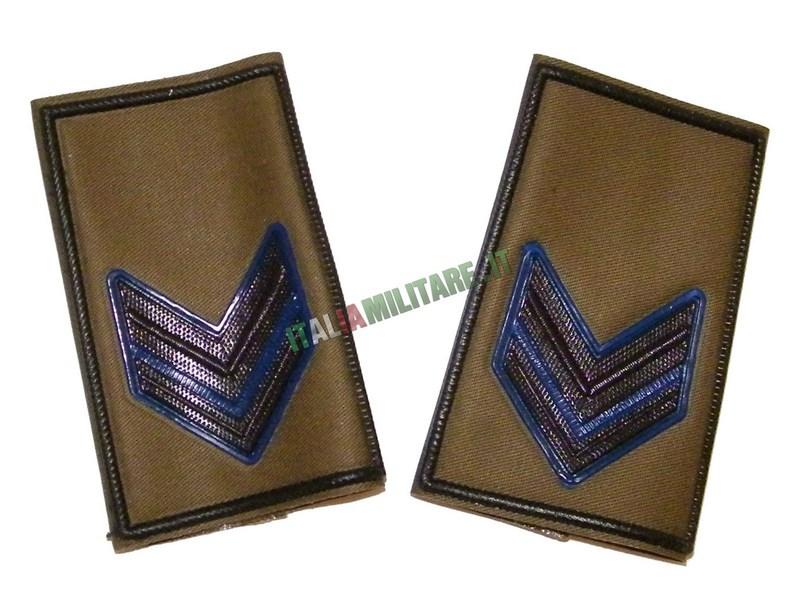 Coppia di Gradi Esercito Italiano Caporale VFP4