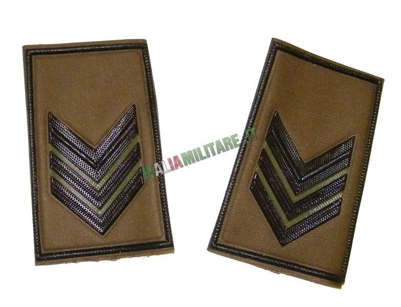 Coppia di Gradi Esercito Italiano Caporale Maggiore VFP1
