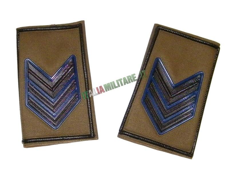 Coppia di Gradi Esercito Italiano Caporale Maggiore VFP4