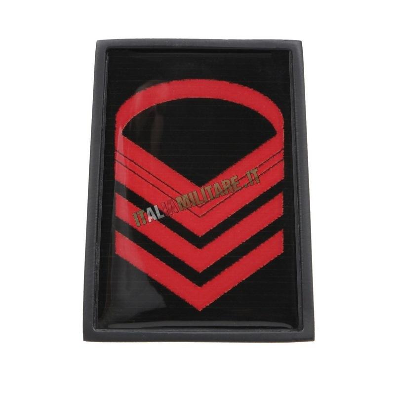 Grado in Metallo Esercito da Caporal Maggiore Capo