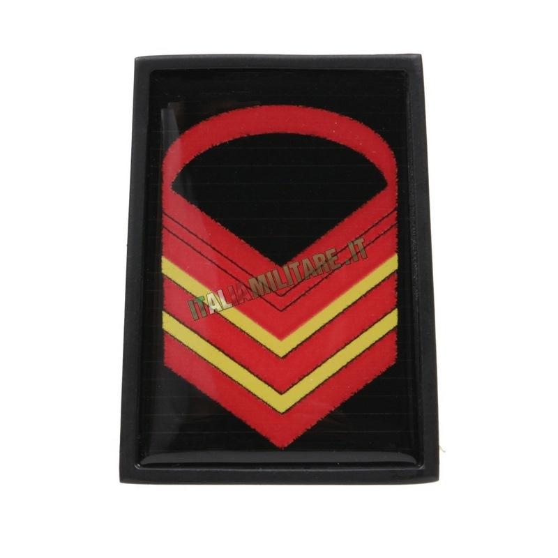 Grado in Metallo Esercito da Caporal Maggiore Capo Scelto
