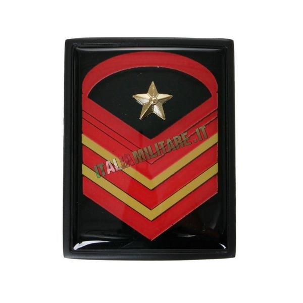 Grado in Metallo Esercito da Caporal Maggiore Capo Scelto Qualifica Speciale