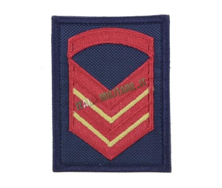 Grado Velcro Marina Militare Blu Sottocapo Prima Classe Scelto