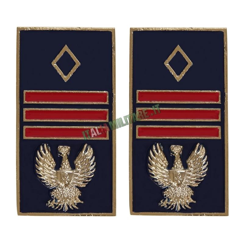 Gradi Polizia di Stato in Metallo da Assistente Capo Coordinatore