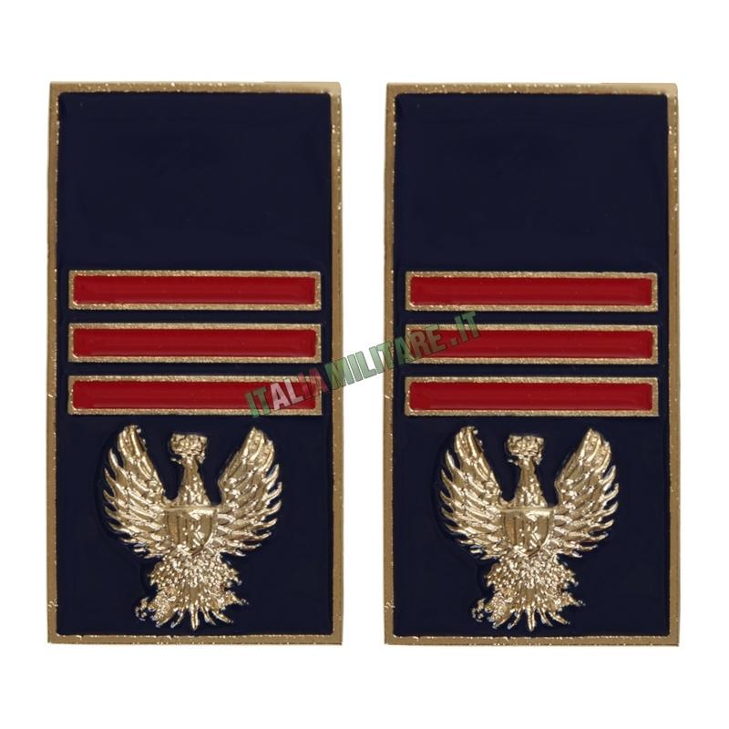Gradi Polizia di Stato in Metallo da Assistente Capo