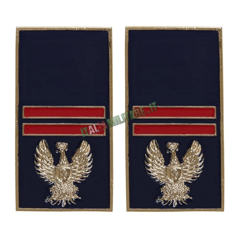 Gradi Polizia di Stato in Metallo da Assistente
