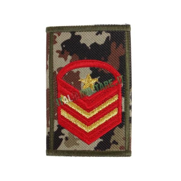 Grado Tubolare Caporal Maggiore Capo Scelto Qualifica Speciale Esercito Vegetato