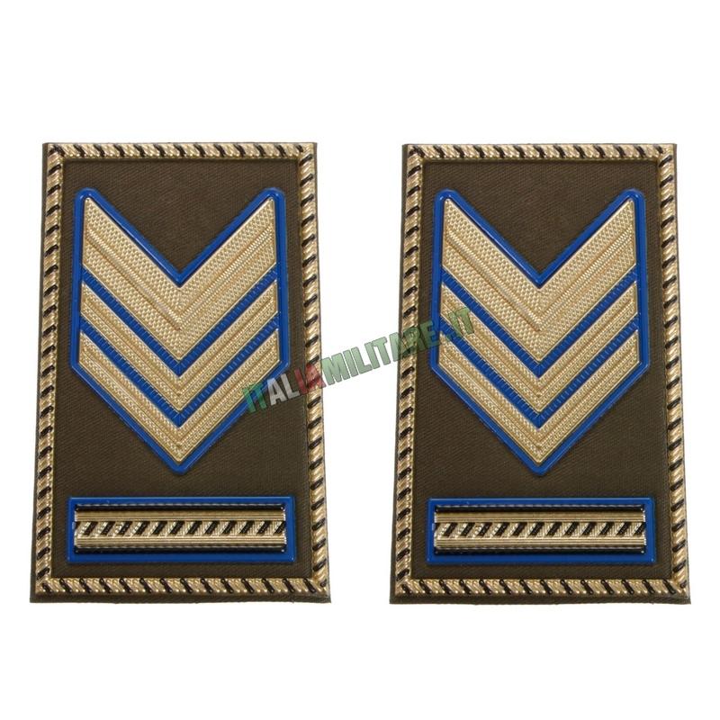 Coppia di Gradi Esercito Italiano Sergente Maggiore Capo Parà