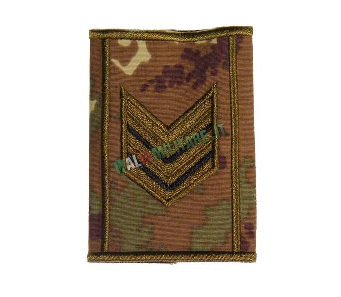 Grado Tubolare Sergente Maggiore Esercito Vegetato Bassa Visibilità