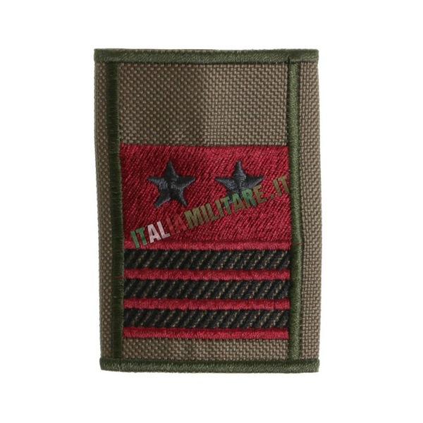 Grado Tubolare Verde Esercito Primo Luogotenente Qualifica Speciale Bassa Visibilità