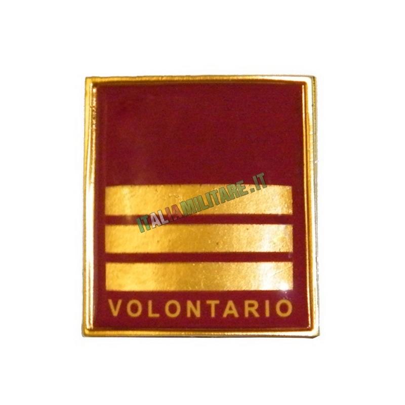 Grado in Metallo Vigili del Fuoco Capo Reparto Volontario