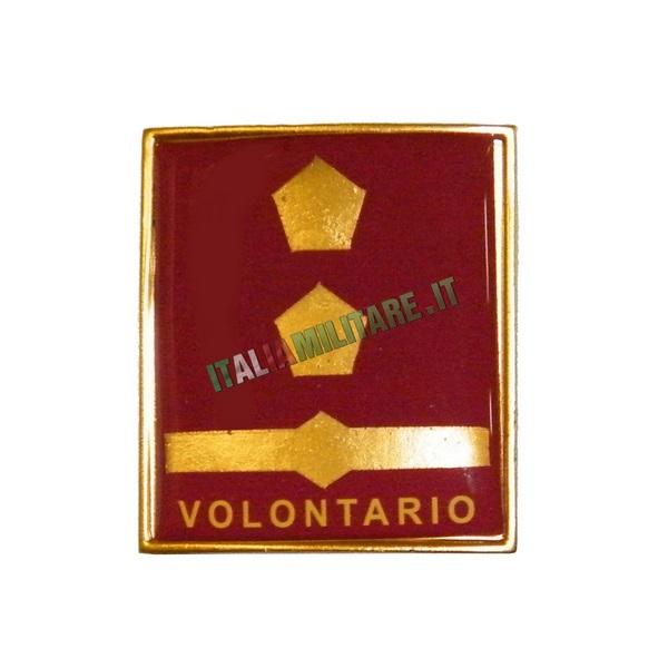 Grado in Metallo Vigili del Fuoco Tecnico Antincendi Volontario