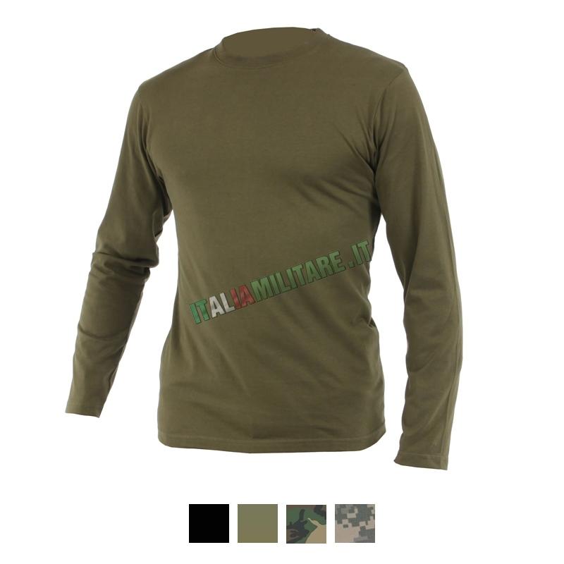 T-Shirt Manica Lunga MilTec